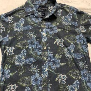 American RAG mens Hawaiian shirt